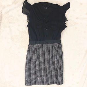Banana Republic Petite Black Dress, Size 2P